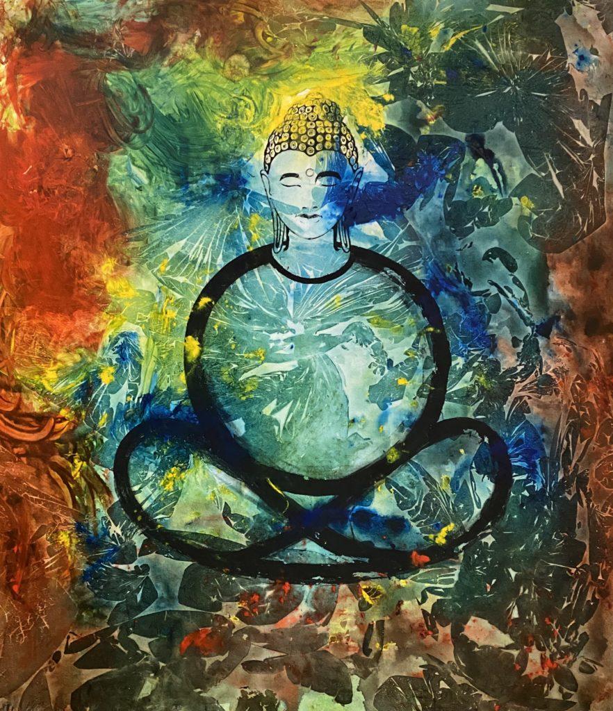 """Buddha 01 """"Reflexion"""""""