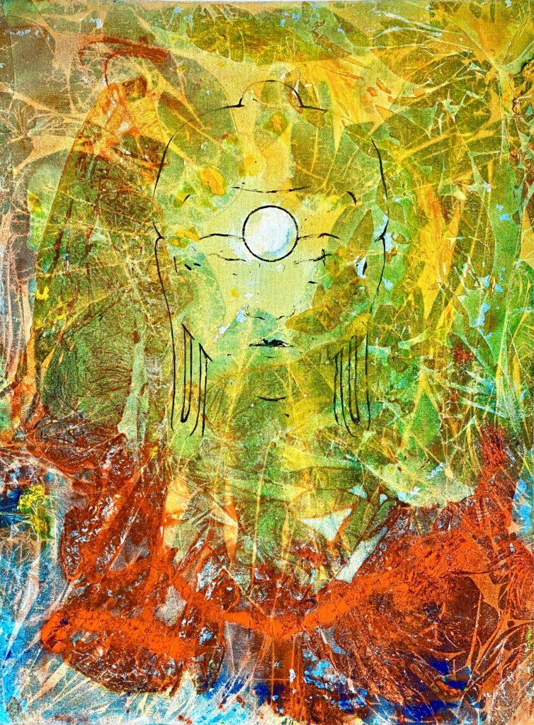 "Buddha 05 ""Nirvana"""